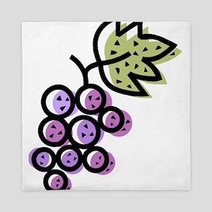 GRAPES [1 lt purple] Queen Duvet